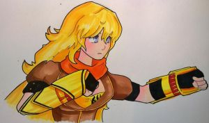 Yang Xiao Long: RWBY by TonyTheToonist
