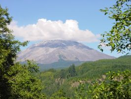 Mt. St. Helens Mountain Stock by Enchantedgal-Stock