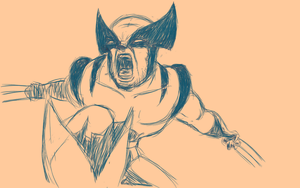 Wolverine Angry by gwinchy