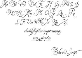 Beloved Script_July Revamp by Weegraphicsman