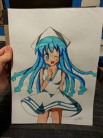 Squid Girl :3 by Johnnyboywillis97