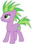 Spike the Pony by Magister39
