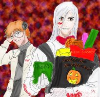 Happy HOLLOWeen-bleach by Yuki-maru