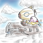 Kirby - Flying Machines by Minon