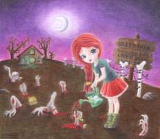 Zombie Farm colo by FactitiousTruth