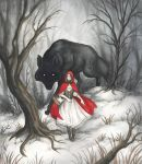 Litte Red Riding Hood web by Evanira