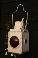 Signalmans Lamp 2 by GothicBohemianStock