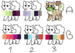50Point Colour Pallete Surprise Adopts! - OPEN 6/6 by ddogdrooladopts