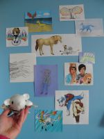 Collage wall! by MarsmallowMe