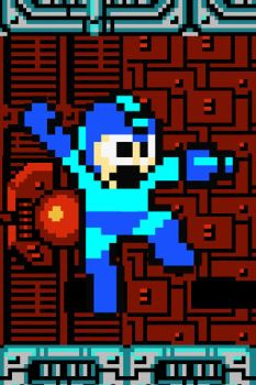 Mega Man iPhone wallpaper by DaSuxXa