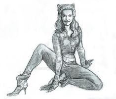 Catwoman (Julie Newmar) 2013 1a by BrianTyson