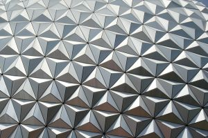 Epcot Spaceship Earth Stock 14 by AreteStock