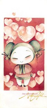 Pucca Love by Claparo-Sans