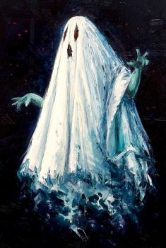 Bed Sheet Ghost by IsidorSwande