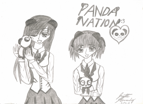 PANDA NATION :3 by domolover13