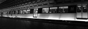 Metro train Panorama by realPhixion