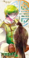 Midorima + hawk by moonu17