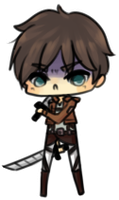 mini eren by pinkbunnii