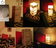 Almost homemade lamp by Camilla205