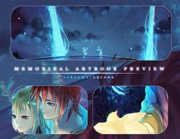 Memorieal Artbook Preview by sakonma