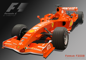 Ferrari F2008 Formula 1 car by vpRaptor