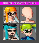 INKLING GIRL CHARACTER EDITOR by Witchking00