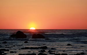 Cannon Beach Sunset 4 by agtspooky
