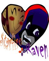 Starfire + Raven by Pisces1090