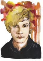 evan peters as tate by as-obu