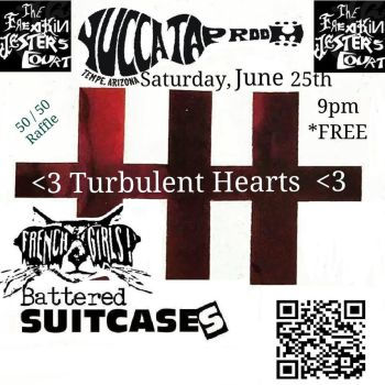 Turbulent Hearts Flyer #1 by Cyco7