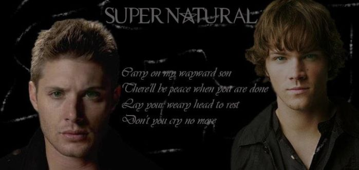 Supernatural, Wayward Son by Donttouchmywand