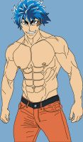 Toriko Muscle by theology132
