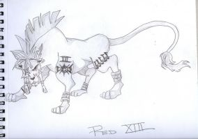 Red XIII by Imprensibilis