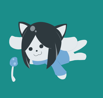 Temmie by UltraParanoidKitsune