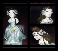 Ballgown Sarah Maquette by SnowFright
