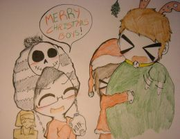 Merry Christmas HaveMorePie :) by huey4ever