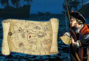 Treasure map by JoniGodoy