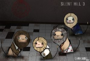 Silent Hill 3 Lions by carrousel