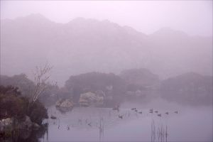 Haystacks Mist by scotto