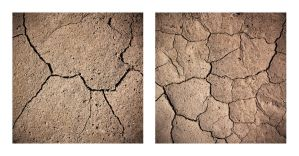 Cracks Diptych by Albiona