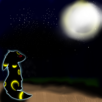 Dark and Stormy Umbreon night by Shadow-Pikachu6