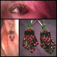 Strawberry Earrings by Beccadex