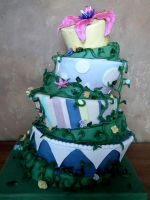 Wild vines cake by kreativekortney