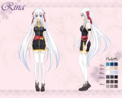 Character Sheet: Rina by Fuyuume
