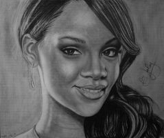 Rihanna by juley-art
