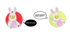 Happy Easter! by theneopetmaster