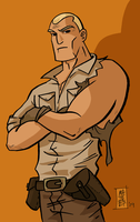 1st DocSavage EVER -COLOR by mattcrap