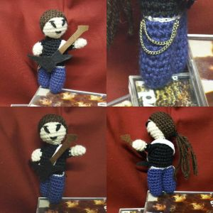 Amigurumi rock star