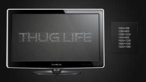 Thug Life wallpaper by curtisblade
