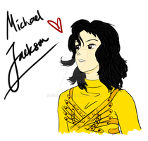 Birthday Tribute: Michael Jackson by Seki-Art